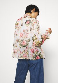 Dorothy Perkins - FLORAL PRINTED SEQUIN COVER UP - Giacca leggera - blush - 2