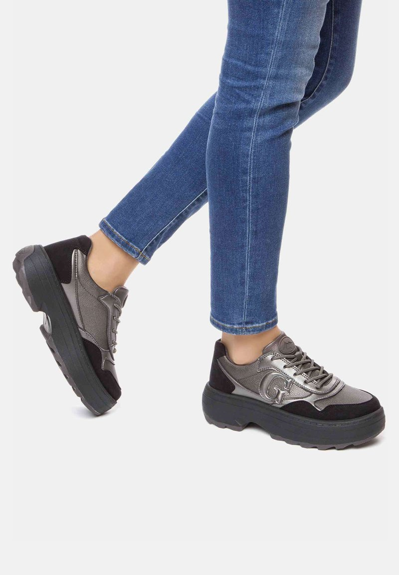 GRÜNBERG - Sneakersy niskie - gray