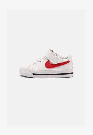 COURT LEGACY UNISEX - Trainers - white/red/black