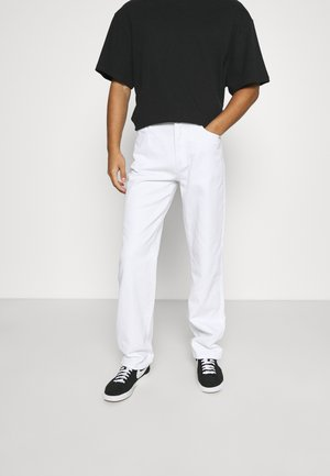 Relaxed fit jeans - off white
