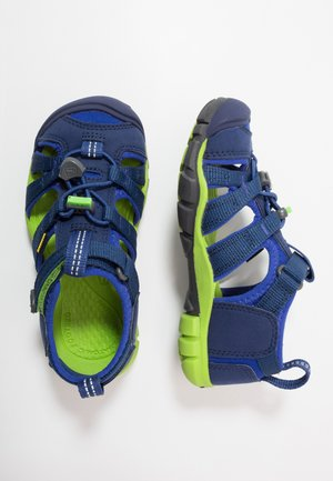 SEACAMP II CNX - Outdoorsandalen - blue depths/chartreuse