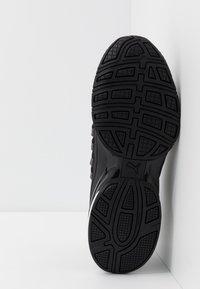 Puma - AXELION BLOCK - Sports shoes - black/white - 4