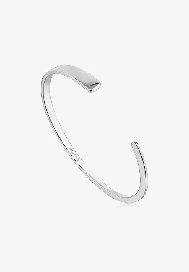 ARMREIF GEOMETRY FLAT CUFF  - Bracelet - silber