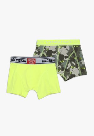 INTERNATIONAL 2 PACK - Boxerky - multicolor green