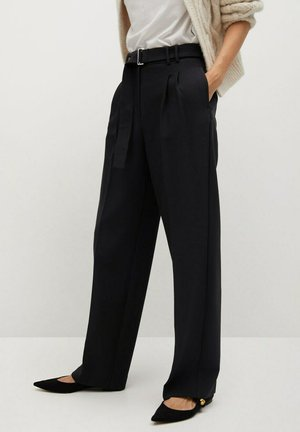 CLAUDI - Trousers - black