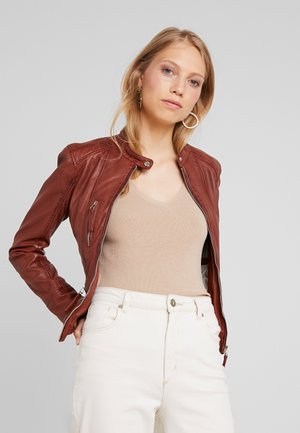 EACH - Leather jacket - wild