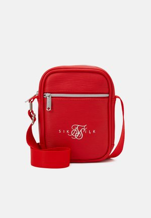 CROSS BODY BAG - Across body bag - red