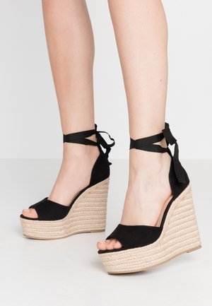 WINNIE - High heeled sandals - black