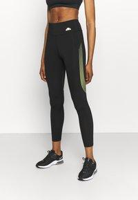 Ellesse - BERIDAT LEGGING - Leggings - black - 0
