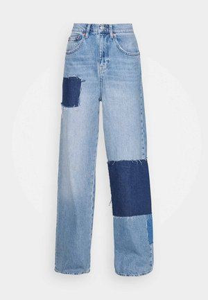 PATCHWORK PUDDLE  - Relaxed fit jeans - mid vintage