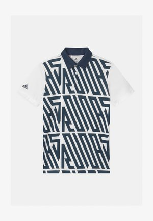 PRINTED SHORT SLEEVE UNISEX - Polo shirt - crew navy