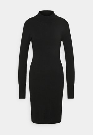 EVA ASTRID DRESS - Jumper dress - black deep