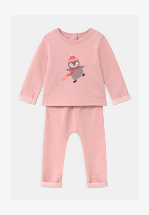 COZY SET UNISEX - Trainingspak - misty rose