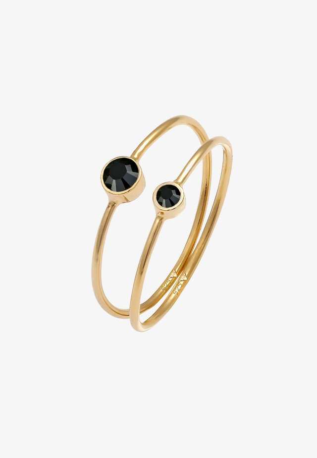 SET - Ringar - gold