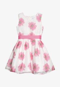 happy girls - Vestido de cóctel - weiß/ pink - 3