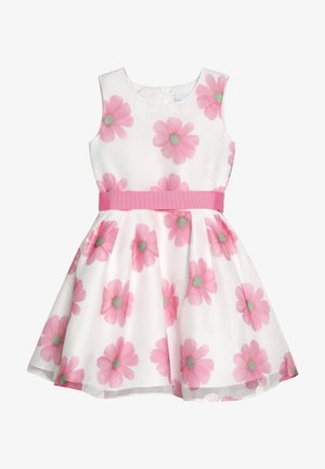 Robe de soirée - weiß/ pink
