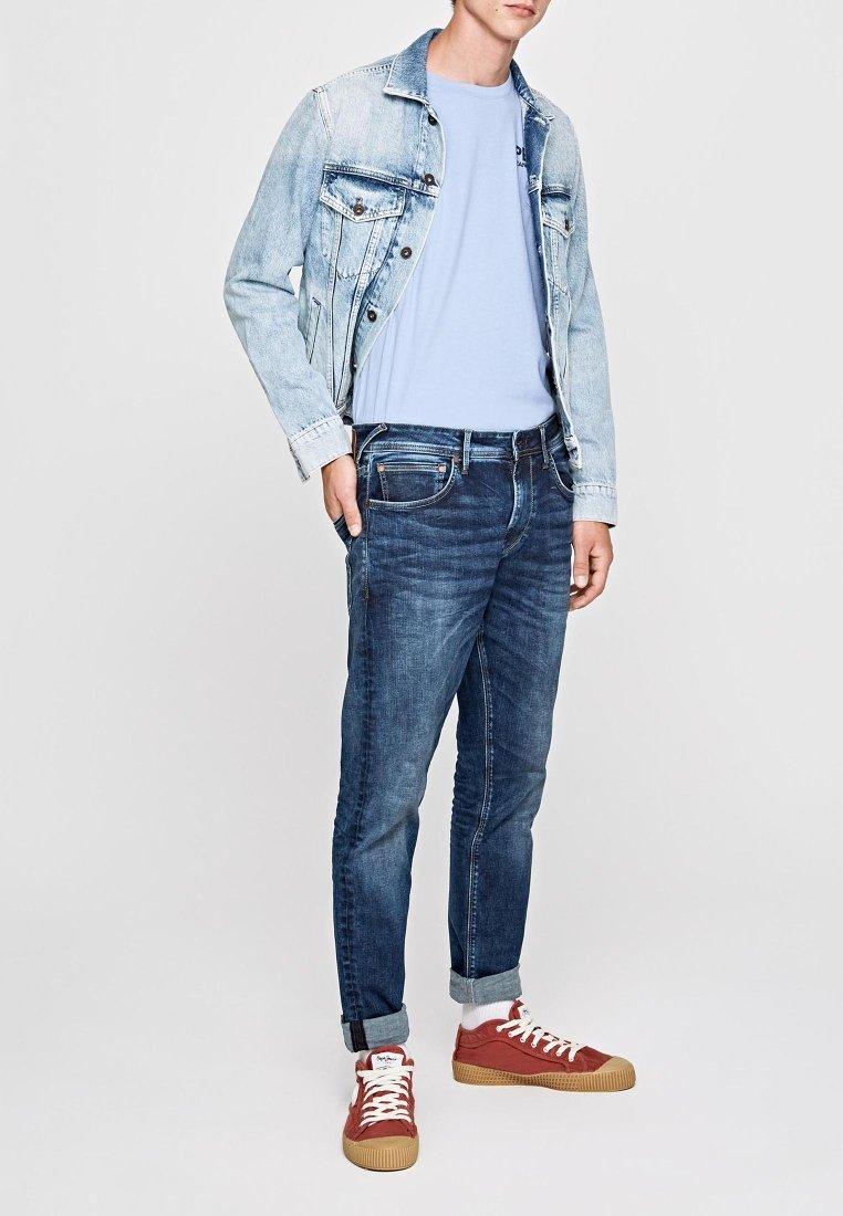 Pepe Jeans - Slim fit jeans - blue denim