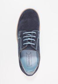 Friboo - LEATHER - Šněrovací boty - dark blue - 1