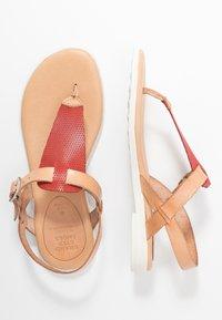 Grand Step Shoes - FLORA - T-bar sandals - sand/lipstick - 3