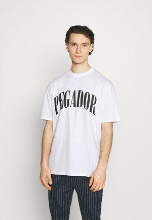 CALI TEE UNISEX - T-shirt con stampa - white/black