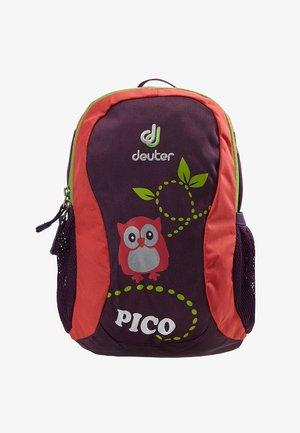 PICO - Rucksack - plum/coral
