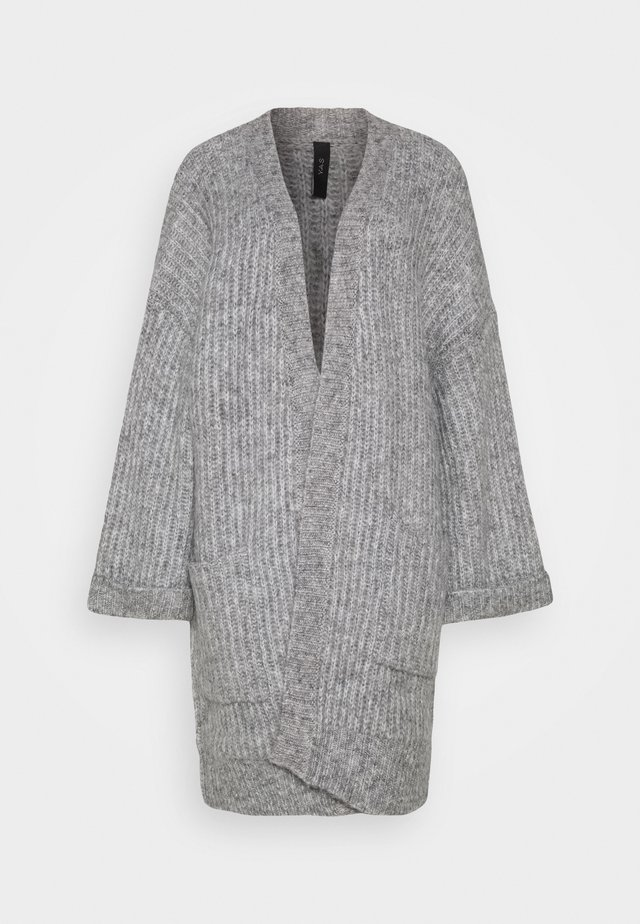 YASSUNDAY  CARDIGAN  - Kardigan - light grey melange