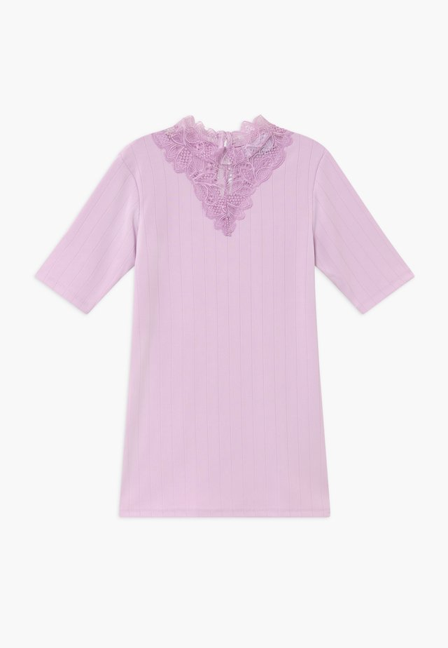 BONJA  - T-shirt con stampa - royal orchid