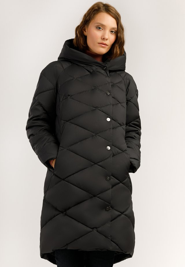 MIT WARMER WATTIERUNG - Winter coat - graphite