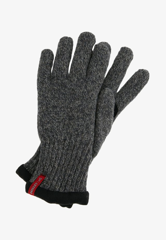 WOOL GLOVE - Rukavice - black