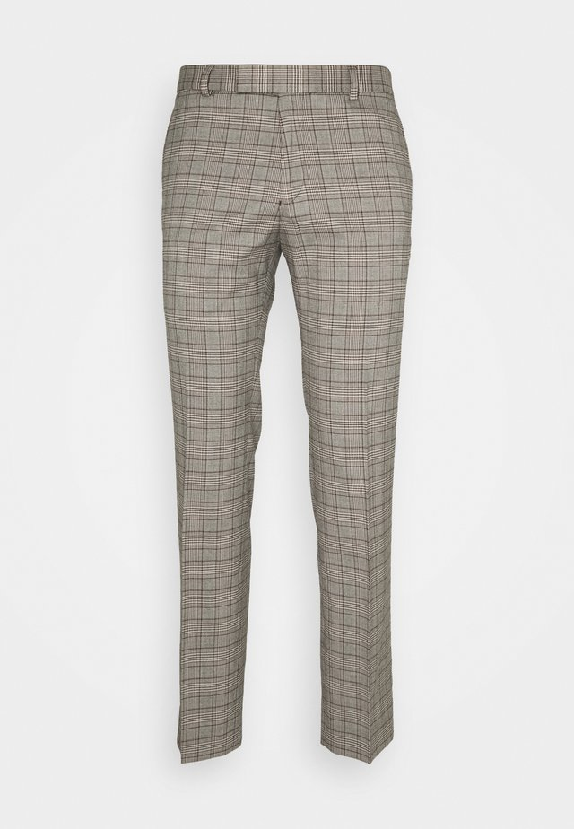 HERITAGE TROUSER - Suit trousers - brown