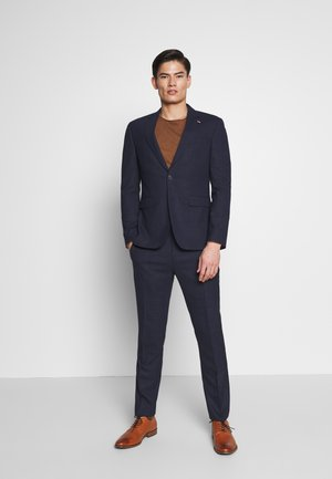 FLEX MINI STRUCTURE SLIM  SUIT - Garnitur - blue