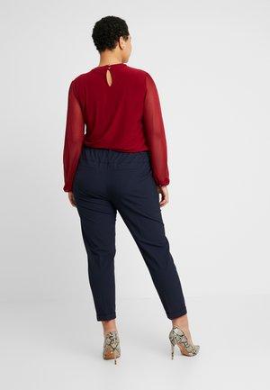 KCNAJA 7/8 PANTS - Trousers - midnight marine