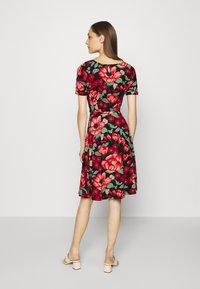 King Louie - BETTY DRESS KIMORO - Jersey dress - chili red - 2
