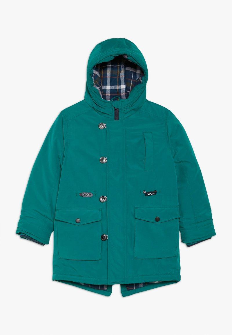 Friboo - Zimní kabát - teal green