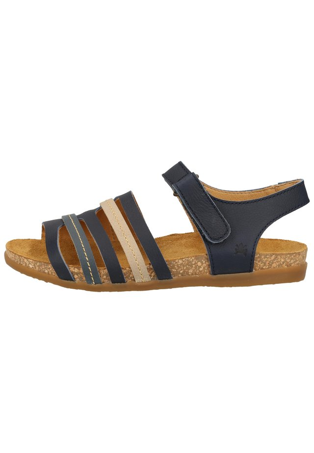 EL NATURALISTA SANDALEN - Sandals - marino mixed