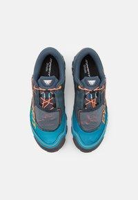 Dynafit - FELINE SL - Trail running shoes - bluejay/shocking orange - 3
