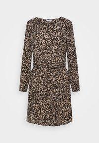 ONLY - ONLNOVA LUX DRAW STRING DRESS - Kjole - black - 5