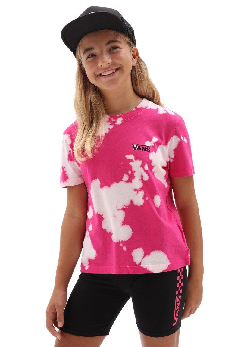 Vans - GR HYPNO BOXY - Print T-shirt - fuchsia purple