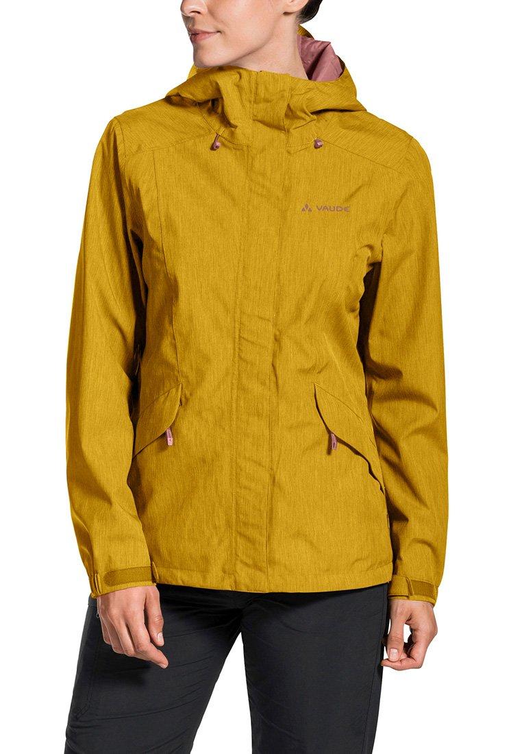 Vaude - ROSEMOOR - Hardshell jacket - marigold