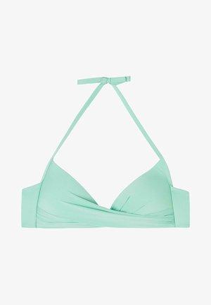 MIT WATTIERUNG INDONESIA ECO - Bikini top - ice mint