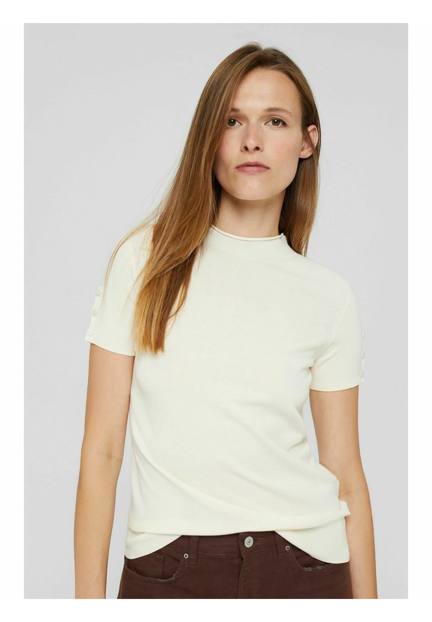 Damen KURZARM- LENZING™ ECOVERO™ - Sweatshirt