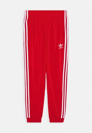 ADICOLOR PRIMEGREEN PANTS - Tracksuit bottoms - scarle/white
