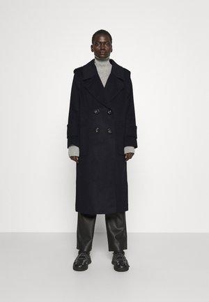 RIVER - Klasický kabát - navy