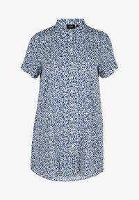Zizzi - Button-down blouse - petit flower - 3