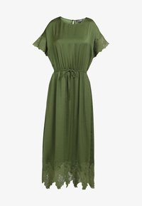 DreiMaster - SATINKLEID - Maxi dress - oliv - 4