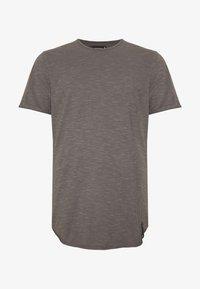 INDICODE JEANS - ALAIN - Basic T-shirt - pewter - 3