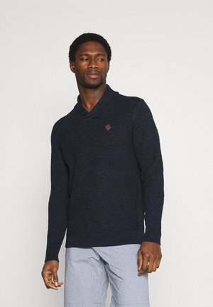 SMOKING - Strickpullover - dark blue