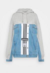 adidas Originals - JACKET - Veste en jean - medium grey heather - 5