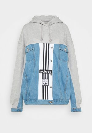 JACKET - Chaqueta vaquera - medium grey heather