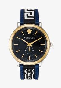Versace Watches - CIRCLE GRECA EDITION - Hodinky - blue - 1